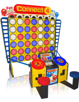 Connect 4 Giant Board Ticket Redemption Arcade Game From Baytek