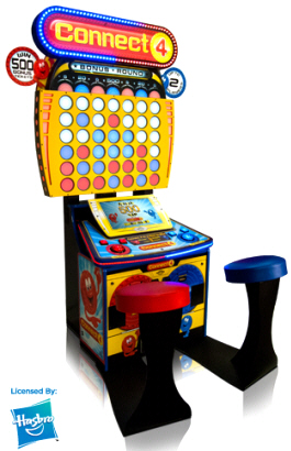 Connect 4 Arcade Standard Redemption Game