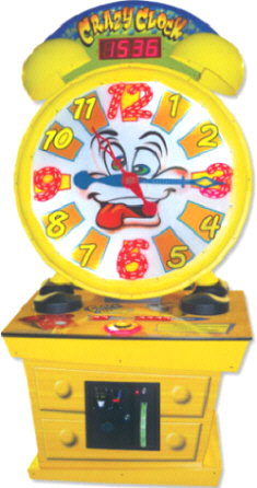 Crazy Clock Giant Ticket Redemption Wheel Game From Coastal Amusements