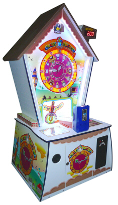 Crazy Cuckoo Quick Coin Ticket Redemption Game From SEGA