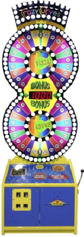 Crazy Curves Ticket Redemption Wheel Game From Skee-Ball