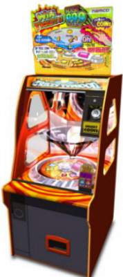 Crazy Typhoon Coin Redemption Game From Namco
