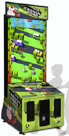 Crossy Road Arcade Ticket Videmption Game From Adrenaline Amusements