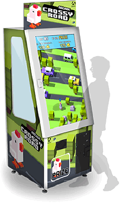 Crossy Road Prize Redemption Touchscreen Video Arcade Game - Adrenaline Amusements