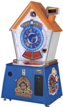 Cuckoo Clock Ticket Redemption Arcade Game / KuKu Clock / KooKoo Clock / CooCoo Clock