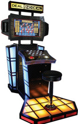 Deal Or No Deal Deluxe Prize Redemption Video Game From Playmechanix / ICE Games