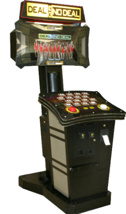 Deal Or No Deal Street Version Prize Redemption Video Game From Playmechanix / ICE Games