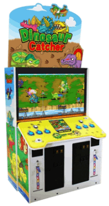 Dinosaur Catcher Ticket Redemption Video Game