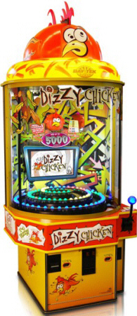 Dizzy Chicken Ticket Redemption Game