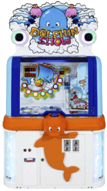 Dolphin Show Ticket Redemption Ball Arcade Game From Andamiro