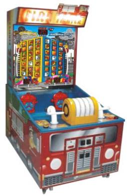 Fire Fighter Arcade Water Gun Ticket Redemption Game From LAI Games