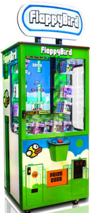 Flappy Bird Merchandiser Prize Redemption Game From Baytek
