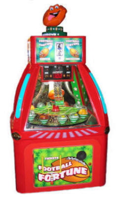 Football Fortune Arcade | Quick Coin Redemption Game | Family Fun Companies