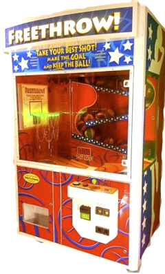 Freethrow Basketball Ticket Redemption Game  | Family Fun Companies