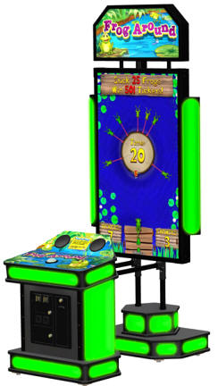 Frog Around Arcade Ticket Videmption Game From Coastal Amusements