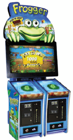 Frogger Video Arcade Ticket Redemption Game - ICE