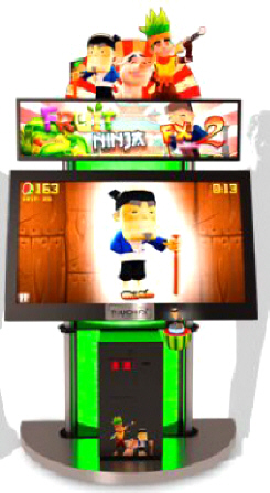 Fruit Ninja FX2 Arcade Touchscreen Video Game From Adrenaline Amusements