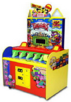 Funky Gators Hammer / Pounder  Ticket Redemption Arcade Game From Namco Bandai