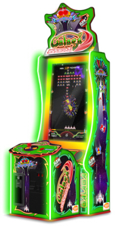 Galaga Assault Video Arcade Game From Bandai Namco