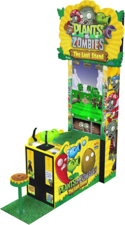 Plants Vs Zombies Arcade - The Last Stand Video Arcade Game|  Ticket and Capsule Videmption Game From Sega Amusements
