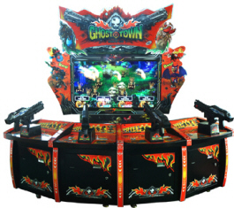Ghost Town Video Redemption Shooting Game From LAI Games