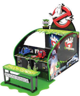 GhostBusters Arcade Ticket Redemption Video Game From ICE Games