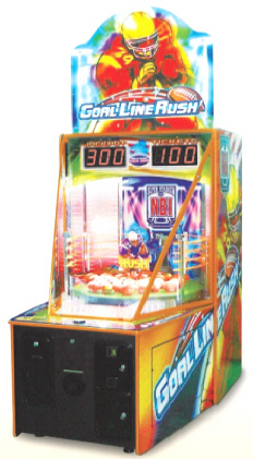 Goal Line Rush Ticket Redemption Game From Namco