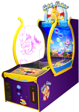 Gold Fishin' Arcade Carnival Redemption Game | ICE Games