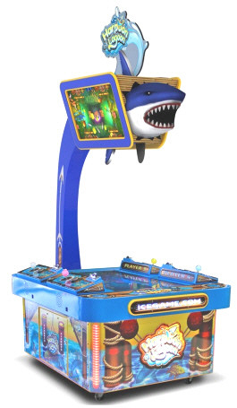 Harpoon Lagoon Deluxe Ticket Redemption Video Game |  Innovative Concepts In Entertainment / ICE