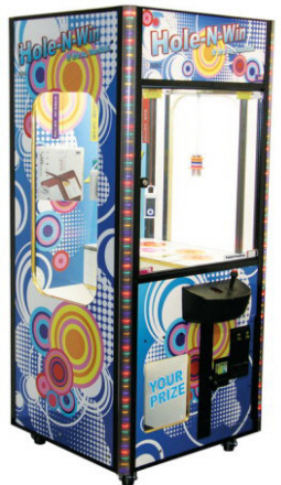 Hole In Win / Hole-In-Win Prize Merchandiser Redemption Game From Smart Industries