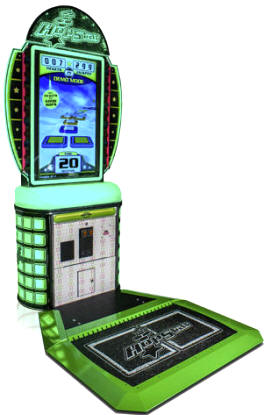 HopStar Ticket Videmption Hopping Arcade Game From Baytek