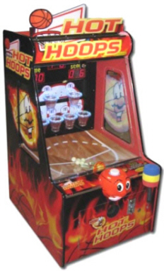 Hot Hoops Basketball Ticket Redemption Game From Family Fun Companies