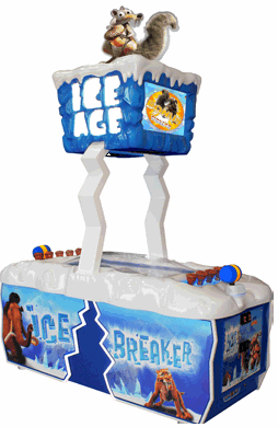 Ice Age Ice Breaker Video Redemption Game From ICE Games