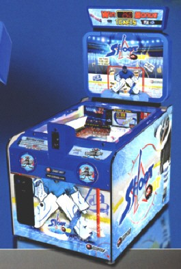 ICE Shootout Quick Coin Ticket Redemption Game From ICE Games