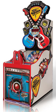 Jam Session Quick Coin Ticket Redemption Game From Bay Tek