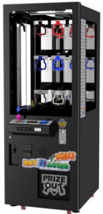Key Master Mini Prize Redemption Game From SEGA