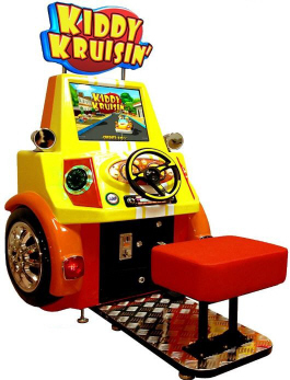 Kiddy Kruisin' Kids Video Driving Game From Family Fun Companies