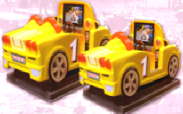 Kiddy Cars Racing - Small and Large Models From Bromley Games