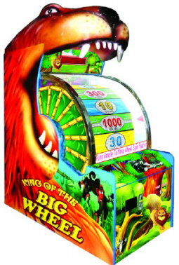 King Of The Big Wheel - Deluxe Model - Ticket Redemption Game - Global VR