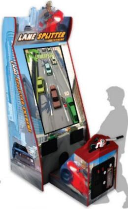 Lane Splitter Extreme Videmption Arcade Game From Adrenaline Amusements