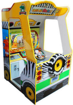 Let's Go Safari Arcade Kids Edutainment Video Game From SEGA