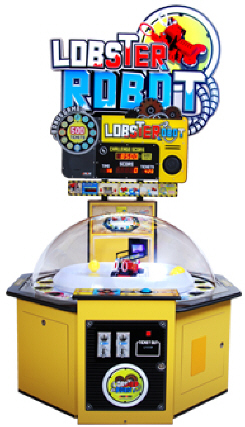 Lobster Robot Robotic Ticket Redemption Game From Andamiro