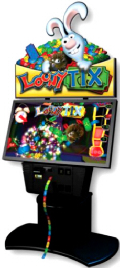 LoonyTix /  Loony Tix Arcade Ticket Redemption Video Game