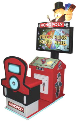 Monopoly Arcade Video Redemption Game From ICE Games