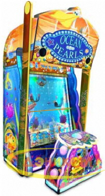 Ocean Pearls Arcade Mechanical Ticket Videmption Game | Jennison Entertainment