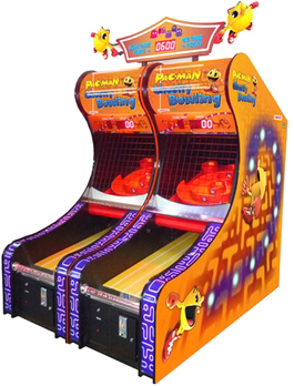 Pac-Man's Ghost Bowling  - Alley Roller Machine From Namco