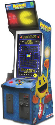 Pac-Man Ticket Mania Ticket Video Redemption Arcade Game From Namco
