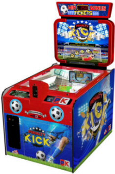 Penalty Kick Quick Coin Ticket Redemption Soccer Game From ICE