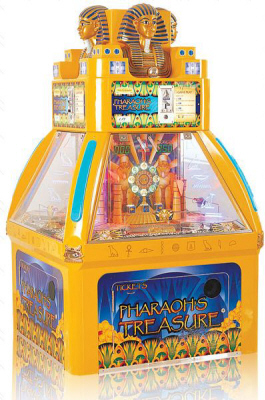 Pharaoh's Treasure Coin Pusher Game