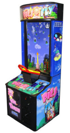 Pigs Might Fly Video Arcade Ticket Redemption Game From Sega Arcade Amusements / Pigs Might Fly!